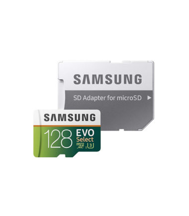 Samsung Micro SDXC EVO+ 4K (Read 100mbs, 128GB, No Adapter)