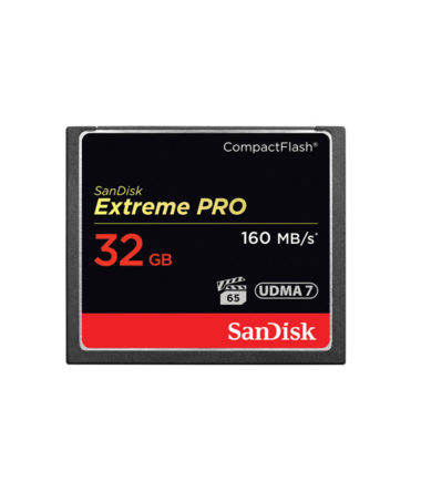 Sandisk Extreme Pro CompactFlash (Read 160mbs, 32GB)