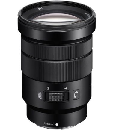 Have all the essential focal lengths covered with this E PZ 18-105mm f/4 G OSS Lens from Sony. Designed for APS-C-format E-mount cameras, this lens offers an extremely versatile 27-157.5mm zoom range and has a constant f/4 aperture for consistency through all focal lengths. Making this lens a great choice for both stills and video is the implementation of a power zoom mechanism and Handycam technology that provides smooth, quiet zooming and focusing. Also, it uses two extra-low dispersion elements and three aspherical elements to combat aberrations for crisp, clean images.