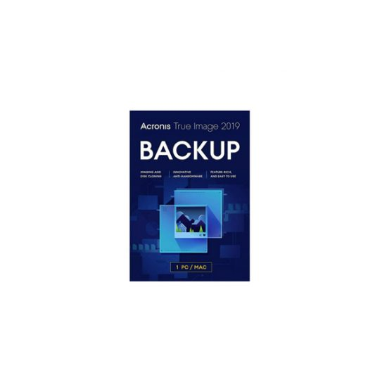 Acronis True Image 2019 5 Computers Email Key TI52L1LOS