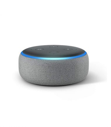 Amazon Echo Dot (3rd Generation, Heather Gray)