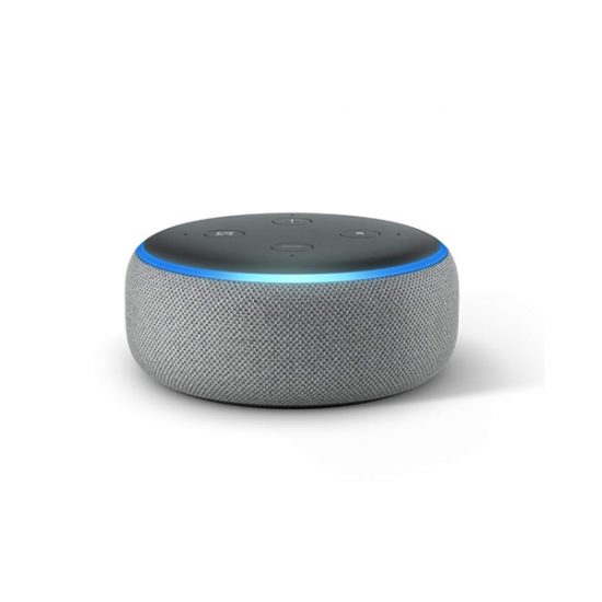 Amazon Echo Dot (3rd Generation, Heather Gray)