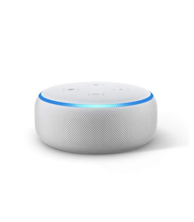 Amazon Echo Dot (3rd Generation, Sandstone)