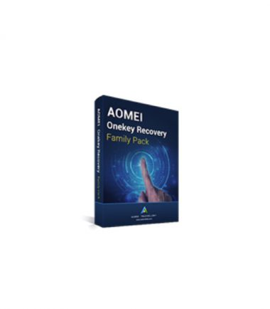 Aomei OneKey Recovery Family Software - Email key