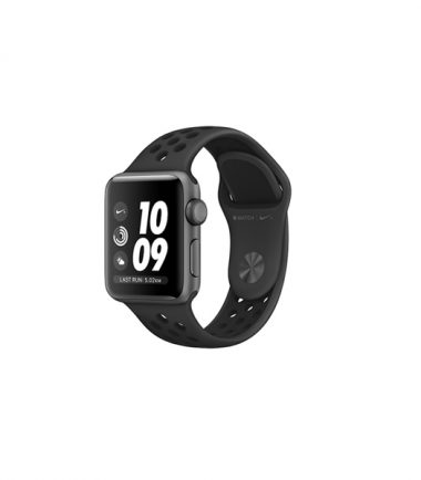 Apple Watch Nike+ Series 3 38mm Anthracite Black, Space Gray Sport (MTF12)