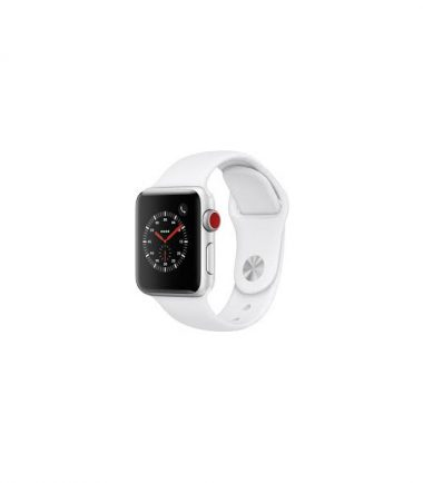 Apple Watch Series 3 White Sport 42mm Silver Aluminum MTF22