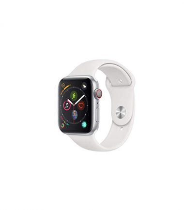 Apple Watch Series 4 44mm WhiteSport Band with Silver Aluminum (MTUU2, GPS+Cellular)