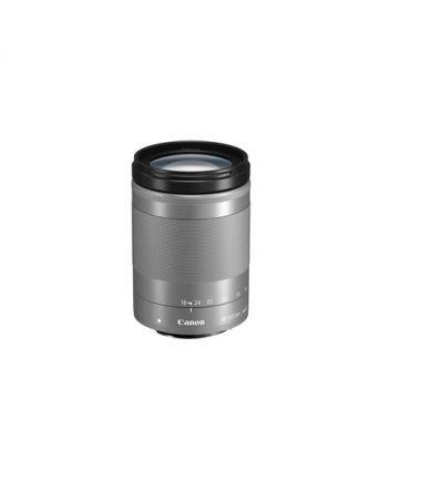 Canon EF-M 18-150mm F3.5-6 silver