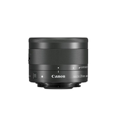 Canon EF-M 28mm f3.5 Macro IS STM (Black)