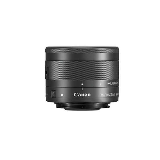 Canon EF-M 28mm f3.5 Macro IS STM (Black)