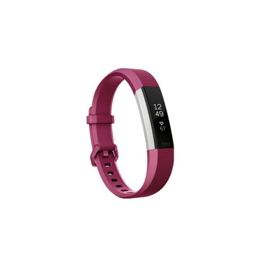 Fitbit Alta HR Activity Tracker (Large, Fuchsia)