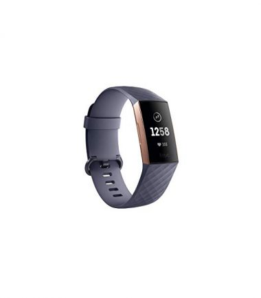 Fitbit Charge 3 Blue Gray Rose Gold (One Size)