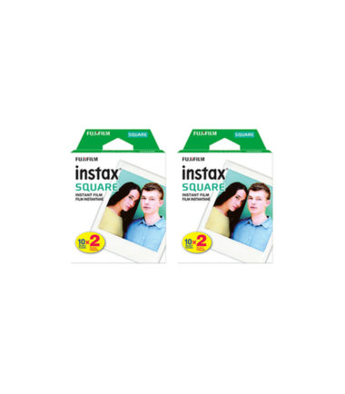 Fujifilm Instax Square Instant Film (10 Sheets x 2 Packs)