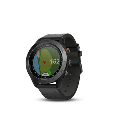 Garmin Approach S60 GPS Golf Watch Black with Black Band (010-01702-20)