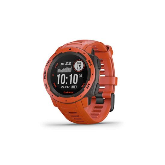 Garmin Instinct Outdoor GPS Watch (Flame Red, 010-02064-34)