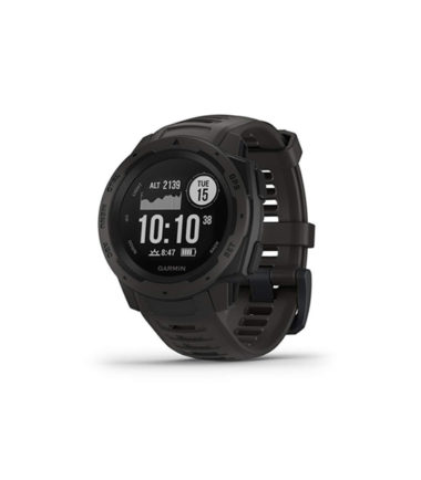 Garmin Instinct Outdoor GPS Watch (Graphite, 010-02064-14)