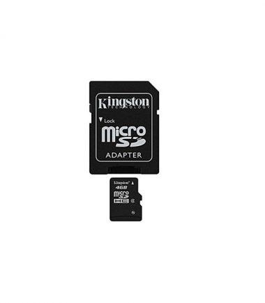 KINGSTON 4GB SDHC MicroSD Class 4 MEM Card