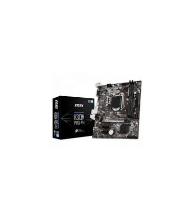 MSI H310M PRO-VH 8th gen motherboard HDMI, VGA