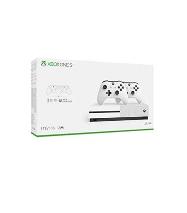 Microsoft Xbox One S Two-Controller Bundle (1TB)