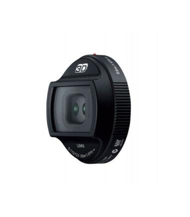 Panasonic LUMIX G 12.5mm f12 3D Lens (HFT012) (Retail Box, Black)