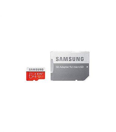 SAMSUNG 64G EVO Plus microSD Card (SD Adapter)