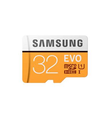Samsung Micro SDXC UHS-I EVO Class 10 (32GB, Read 95mbs, No Adapter) (MB-MP32G)