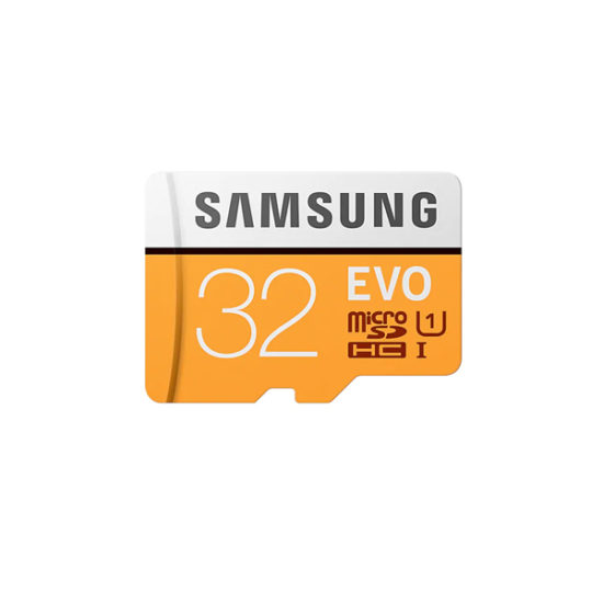 Samsung Micro SDXC UHS-I EVO Class 10 (32GB, Read 95mbs, No Adapter) (MB-MP32G)
