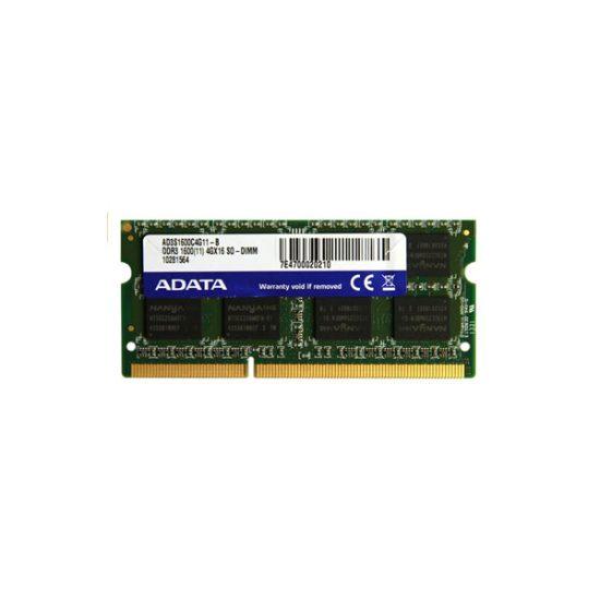 (Sodimm) Adata 4GB DDR3L-1600 ADDS1600W4G11-R memory