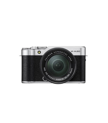 image-01 Fujifilm X-A20 Kit with 15-45mm Silver