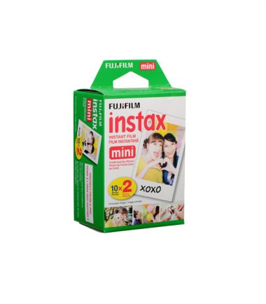 Fujifilm Instax Film (Twin Pack, 20 Sheets)